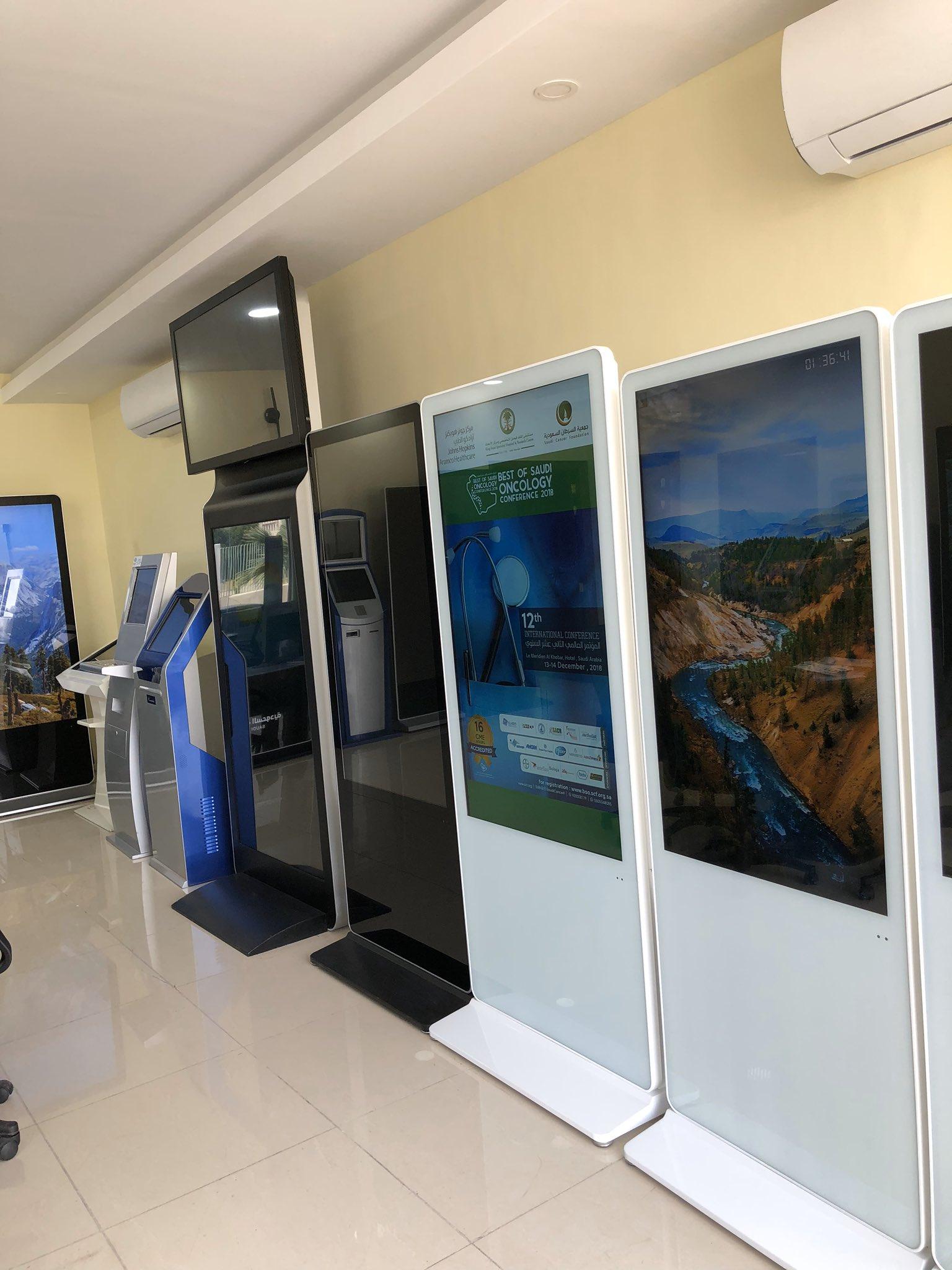 تصميم وتصنيع وتنفيذ حسب طلب العميل شركة تمام للالكترونيات - حلول العرض والأجهزة التفاعلية 0548040824